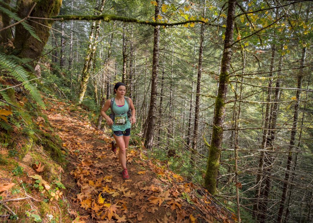 EK fall leaves on trail