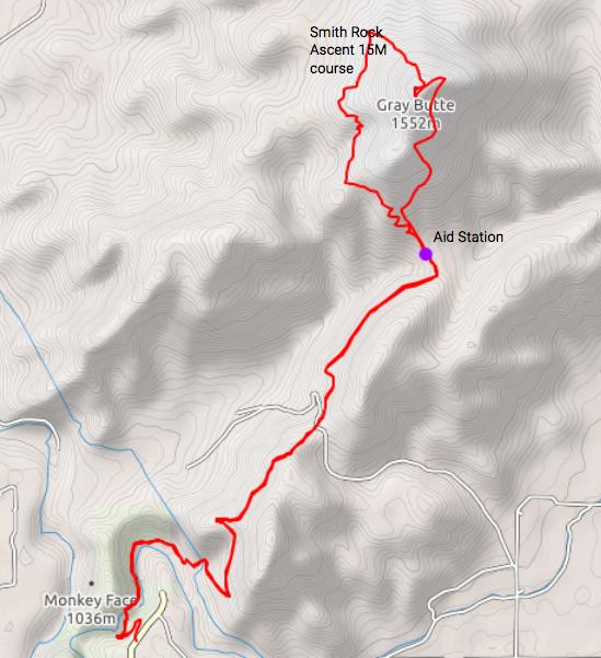 Smith Rock Ascent 15M course