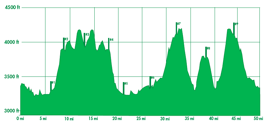 MH50M elevation profile