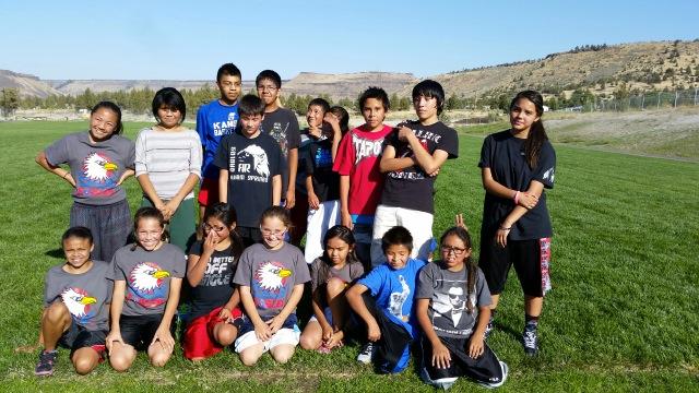 Warm Springs Academy kids